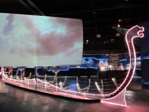 Lichtschiff im Zentrum der Ausstellung (Foto: Christoph Schweiger).
