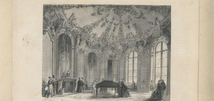 Le Musée des Archives. Salle ((http://www.biusante.parisdescartes.fr/histmed/image?CISB0601))