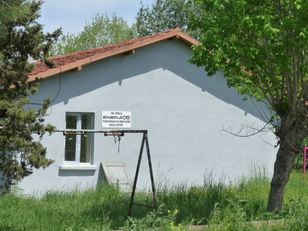 École rénovée par le groupe EnerjiSA (Photo E.A)