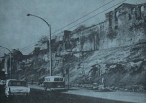 Kalıntıların 1970'lerdeki görünümü (Eyice 1976: Fig. 5)