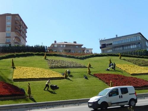 Entretien des parcs et jardins à Istanbul, J.F. Pérouse