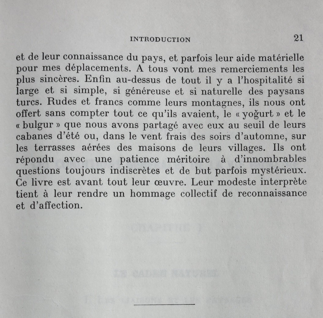 Fin de l'introduction de la thèse (1958, p. 21)