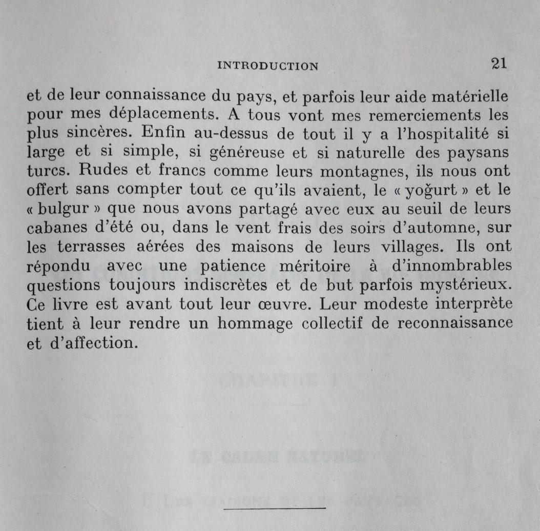 Fin de l'introduction de la thèse (1958, p. 21)