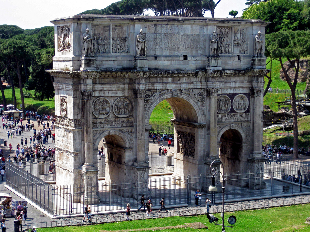 Arc de Constantin, Rome