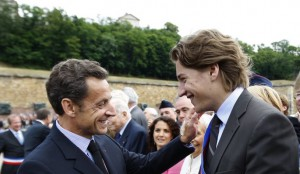 Nicolas et Jean Sarkozy