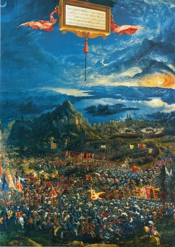 La bataille d'Issos, par Albrecht Altdorfer (1529)