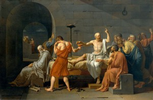 Jacques-Louis David, La mort de Socrate
