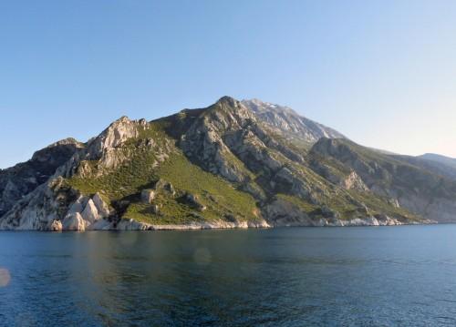 """Le Mont Athos, en Grèce: """"une motte de terre dans le monde""""."""