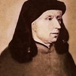 Anonymes Portrait von Jean Ockeghem