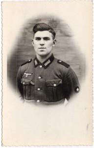 Philipp Weinheimer 1941 in Verdun