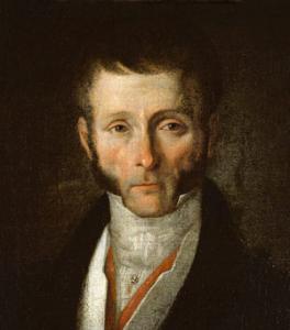 Joseph Fouché, Duc de Otrante, Gemälde vor 1829 [Bild: von École française [Public domain], via Wikimedia Commons; URL: http://www.myartprints.co.uk/kunst/french_school/school_portrait_of.jpg].