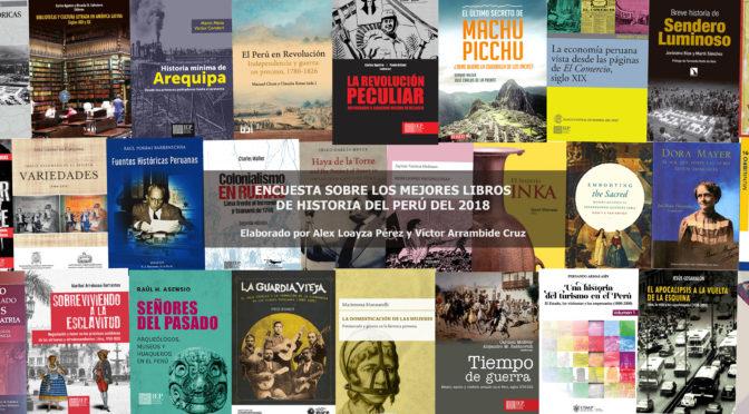 Los más importantes (o populares) libros de historia del Perú del 2018