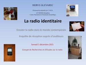 La radio identitaire