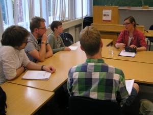 Élodie Lecuppre-Desjardin im Studenteninterview