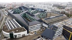 Le futur ministère de la défense dans le quartier Balard à Paris