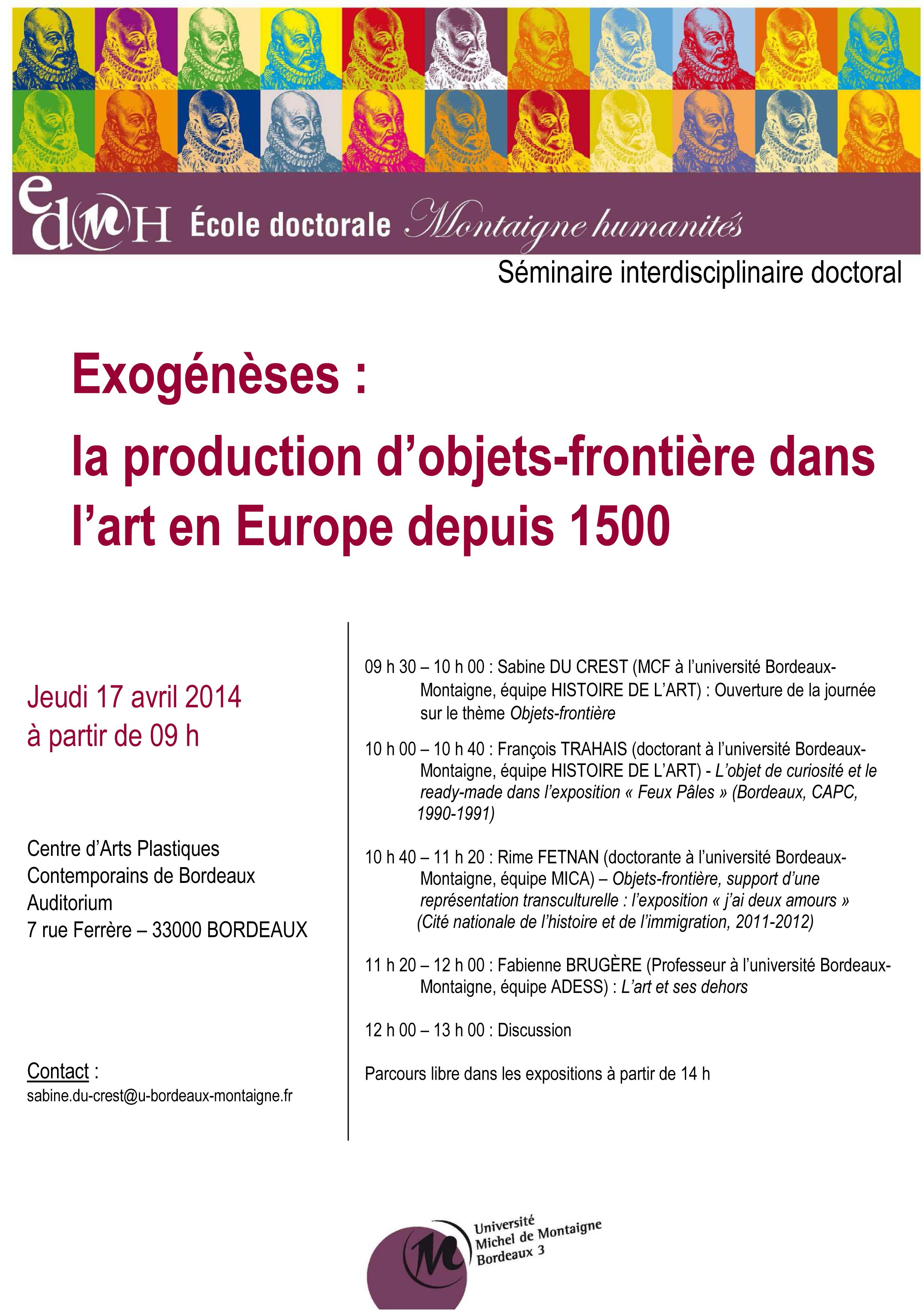 SID Exogénèse 17 04 2014
