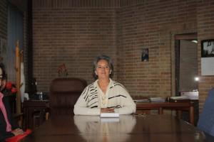 Sara González, directrice des archives nationales de Colombie