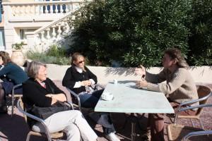 Participants des FREDOC à la pause