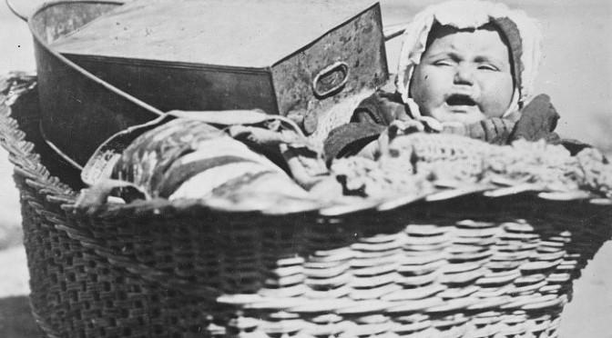 Fuir Smyrne en bateau en 1922