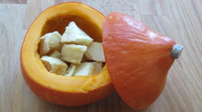 La recette du mois : rencontre entre une courge et un fromage