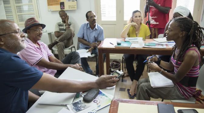 Collecter le patrimoine immatériel de la Guadeloupe : formation au centre Rèpriz