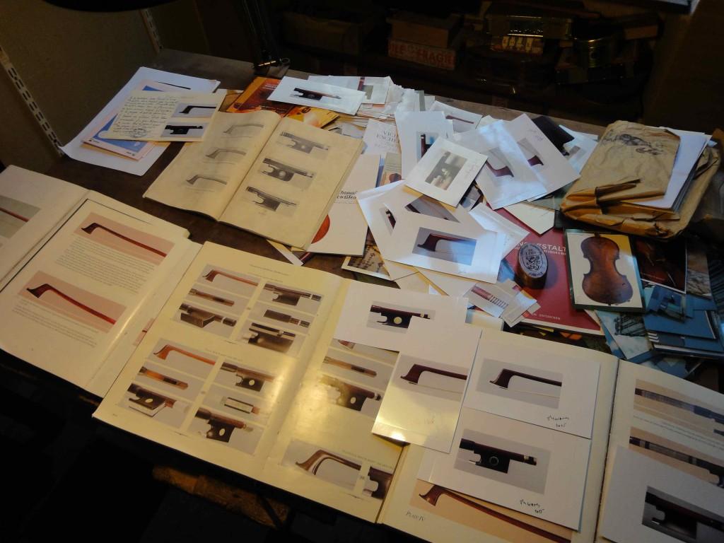 Atelier de l'archetier Jean-Pascal Nehr à Marseille (03/02/2016, cliché HCH)