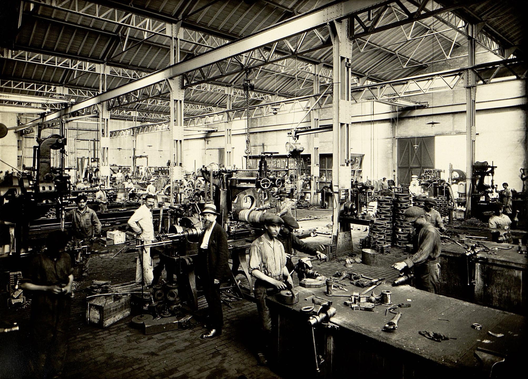 Atelier d'ajustage (1910-1914), Fonds Archives départementales du Tarn
