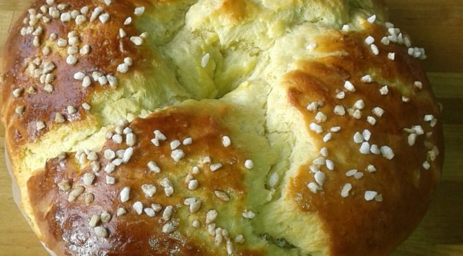 La recette du mois : la couronne des rois provençale briochée