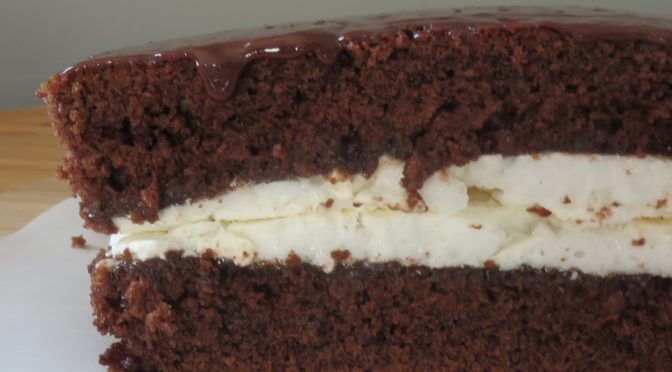 """La recette du mois :  gâteau arménien au chocolat meringué dit """"Sourire"""""""