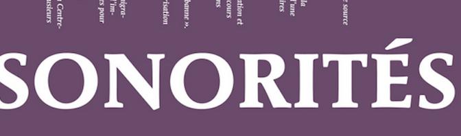 Un nouveau numéro de Sonorités sur les corpus numériques de l'immigration vient de paraître…