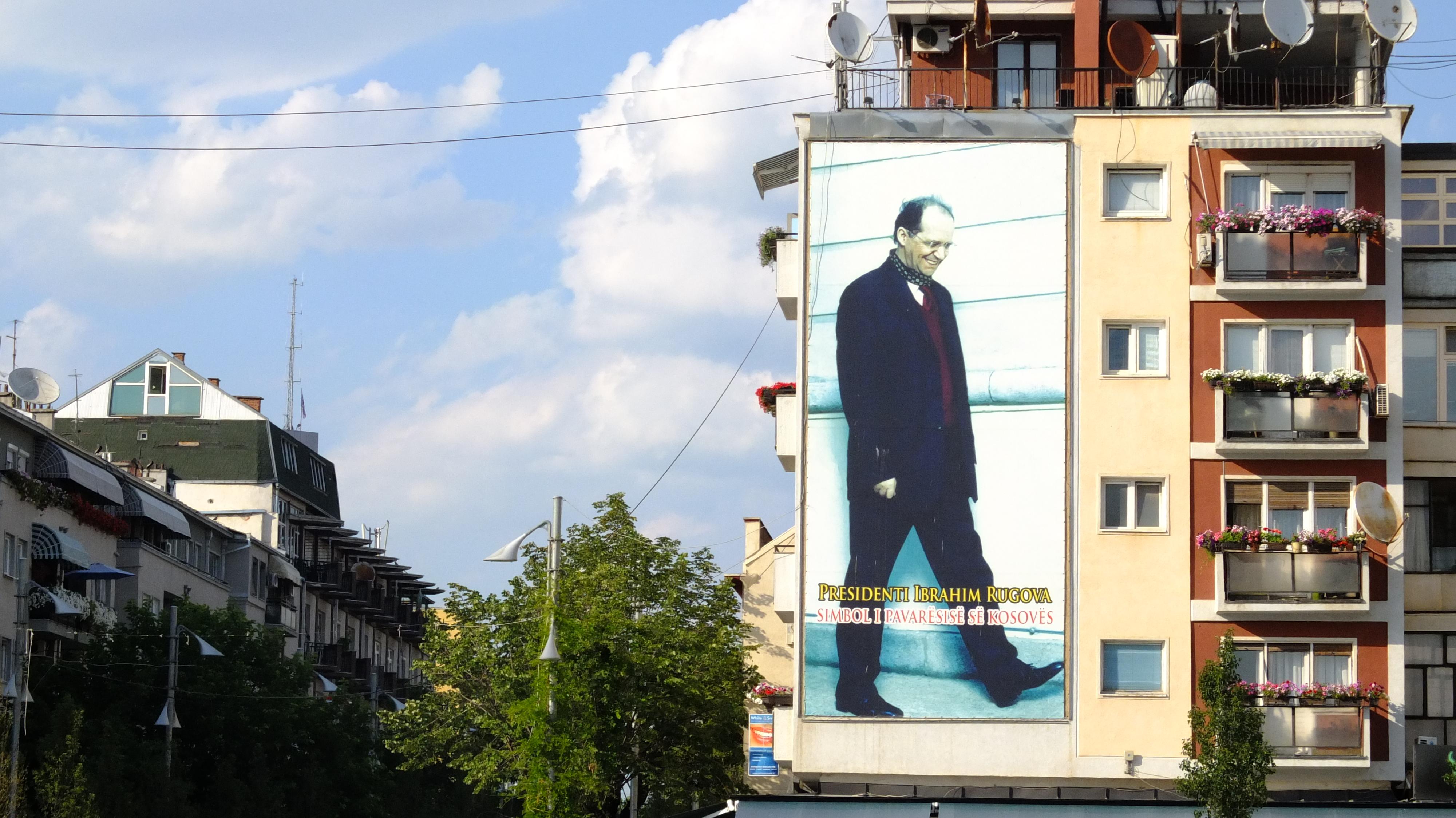 """Président Ibrahim Rugova, symbole de l'indépendance du Kosovo"""