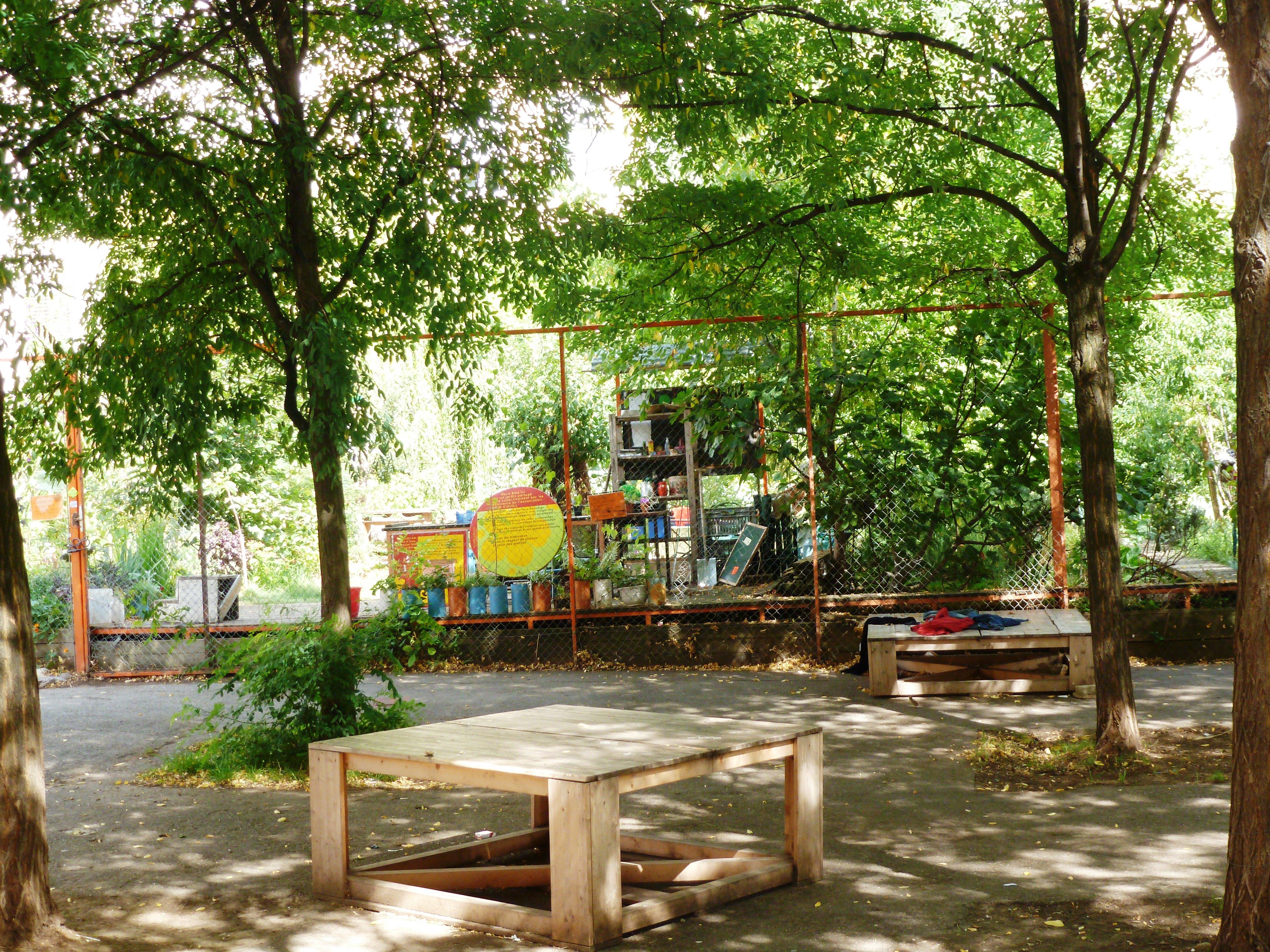 Les jardins communs d amaranthes ou l mergence de l for Jardin publiques