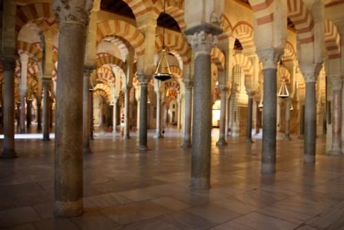 Cordoue - Intérieur de la Mezquita © Luc Brogly