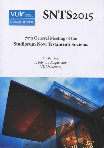 SNTS 2015 Program