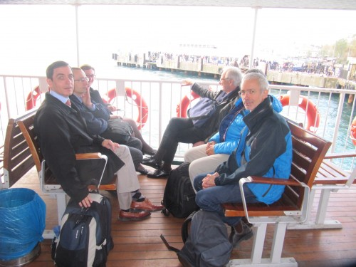 Sur le bateau pour Chalki