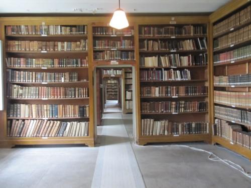 La bibliothèque historique de l'Ecole théologique