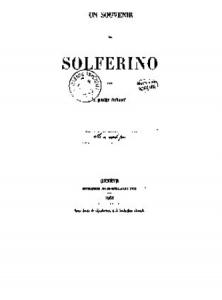 Henry Dunant, Un souvenir de Solférino, 1862