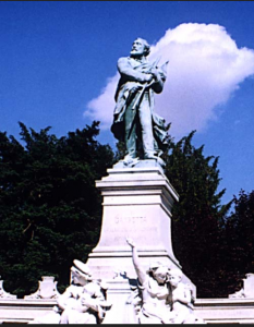Gambetta - Statue de Bartholdi aux Jardies ©Association culturelle de l'Eglise protestante de Boissy Saint Léger