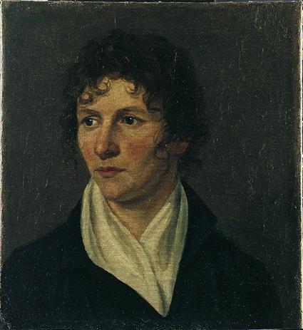 Henriette Rath, Autoportrait (entre 1810 et 1820), huile sur toile (haut 35 cm, larg 32 cm), Musée d'art et d'histoire, Genève. Don de Mme David Ramu, 1911 (N° d'inventaire : 1911-0031)