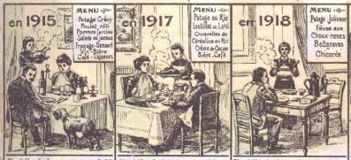 « La vie à Roubaix pendant l'occupation allemande » (détail). Avec l'aimable autorisation de S. Serventi et de son éditrice