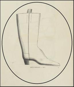 Histoire de la chaussure (1852)