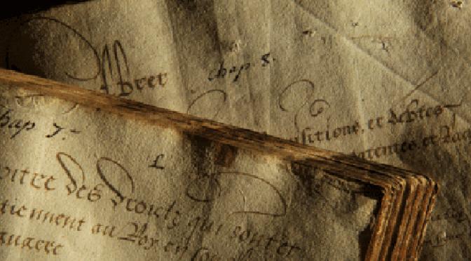 """Ouverture des inscriptions à l'atelier """"Archives de famille"""""""