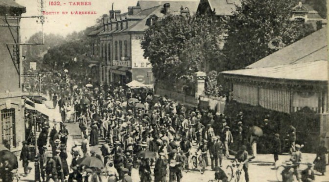 Une ville de l'arrière pendant la Grande Guerre : Tarbes