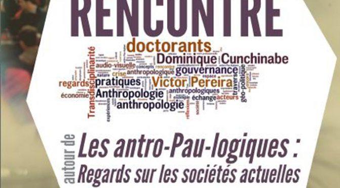"""Présentation ouvrage """"Les Anthro-Pau-Logiques"""", PUPPA"""