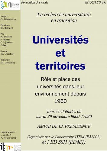 Affiche univ et territoire