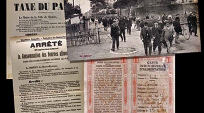 Une ville de l'arrière pendant la Grande Guerre: Tarbes