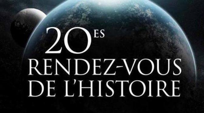 20èmes Rendez vous de l'Histoire