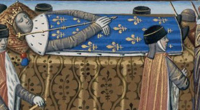 La mort des Princes au Moyen Âge