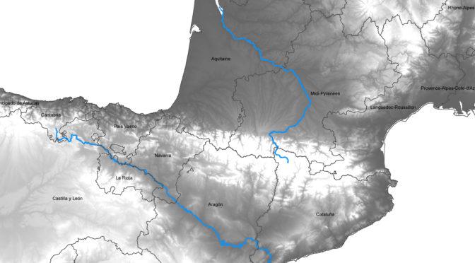 Dynamiques spatio- temporelles entre l'Ebre et les Pyrénées