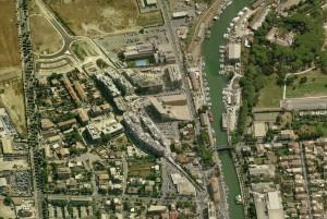 fig. 7 Il nuovo Municipio di Fiumicino di Alessandro Anselmi.